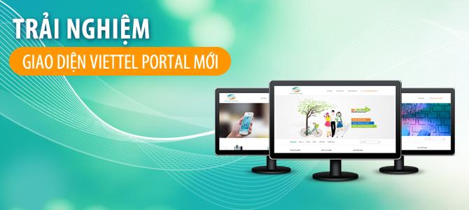 Trải nghiệm Viettel Portal hoàn toàn mới với phiên bản 2.0