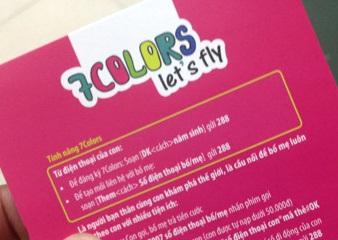 Thông tin gói cước 7COLOR dành cho trẻ dưới 14 tuổi