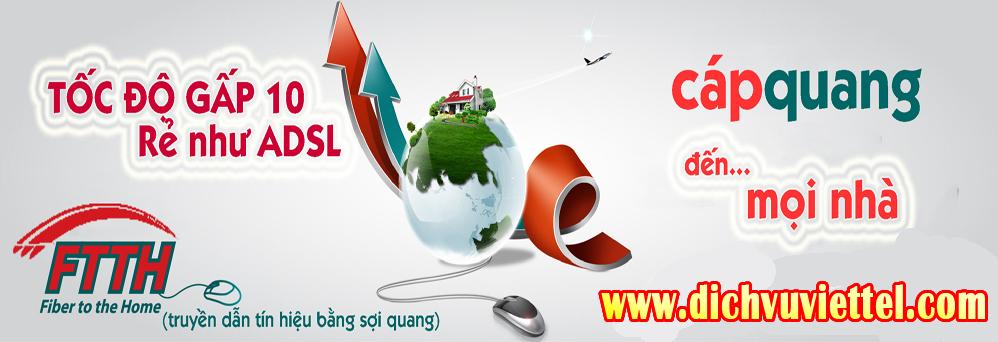 Dịch vụ lắp đặt mạng Viettel