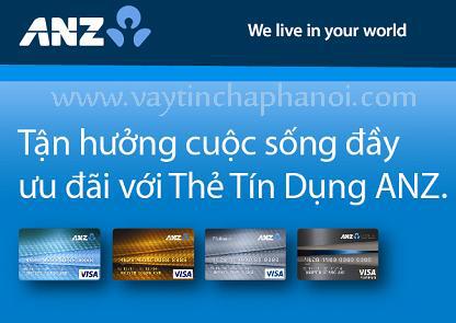 Thẻ tín dụng ANZ Bank , ANZ BAnk Visa