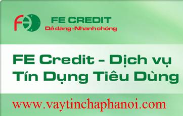 Vay Tín Chấp FE Credit VP Bank