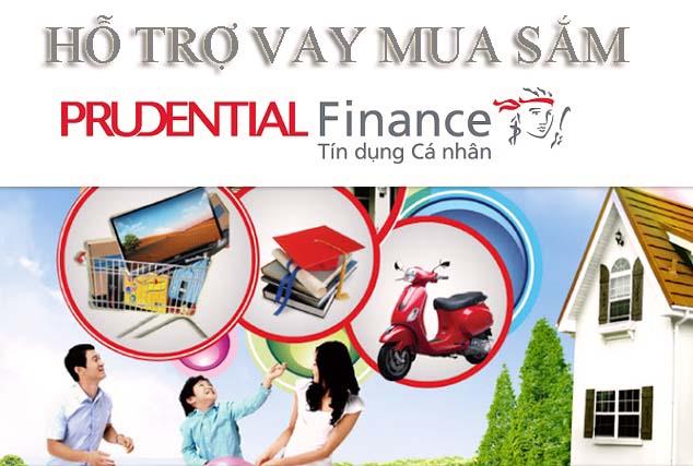 Vay Hỗ Trợ Mua Sắm Prudentail Finance