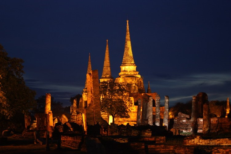 Ayutthaya một thành phố cổ