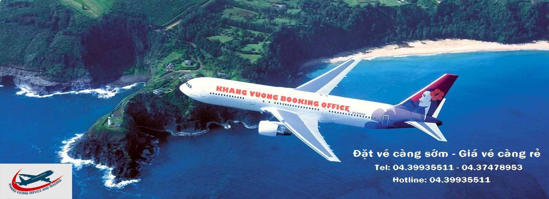 Ve may bay, Đặt mua vé máy bay tại đại lý vé máy bay Khang Vượng cam kết giá rẻ nhất