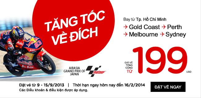 Hồ Chí Minh đi Perth chỉ từ 199USD