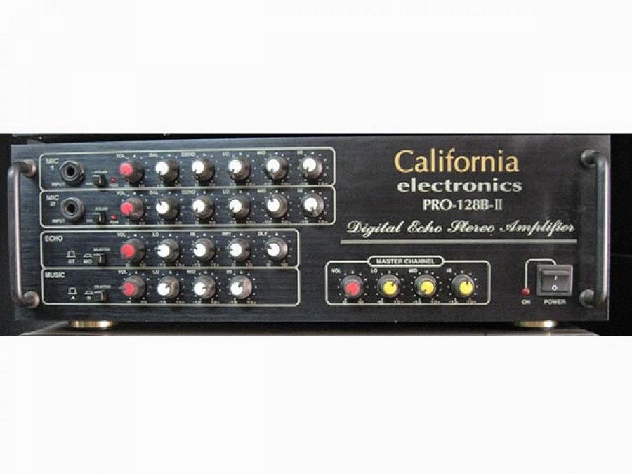 Thông tin bộ amply karaoke cao cấp hãng california