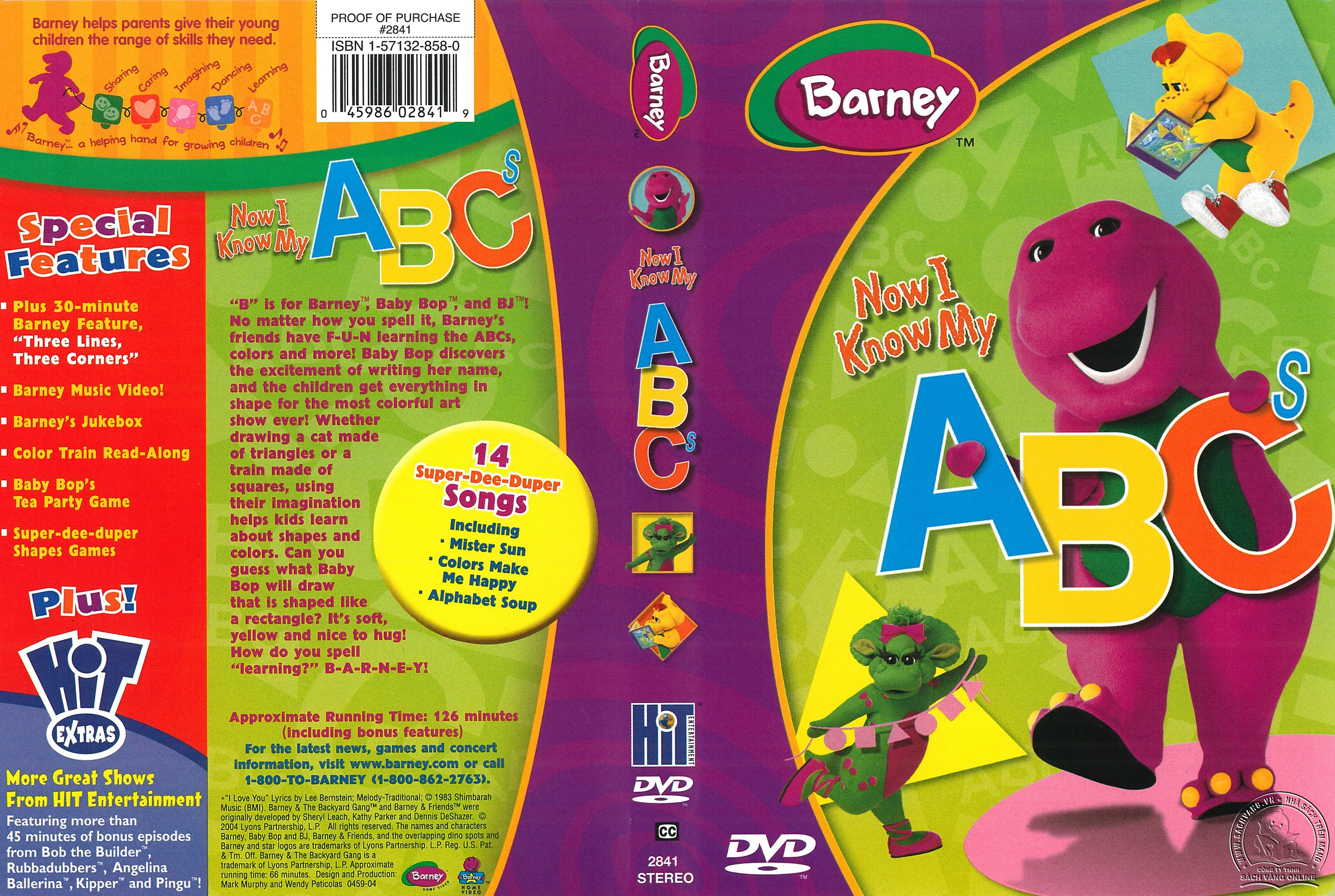 01-Barney Now I Know My ABCs - cover