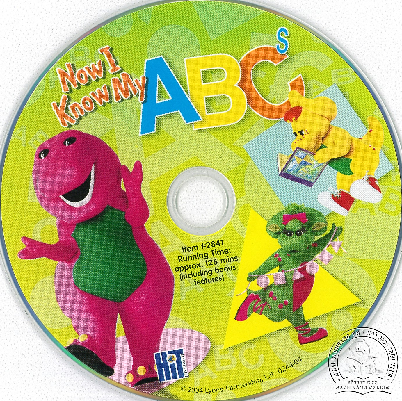 01-Barney Now I Know My ABCs - lebel