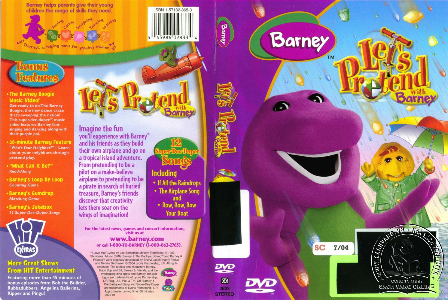 02. Barney Lets Pretend - cover