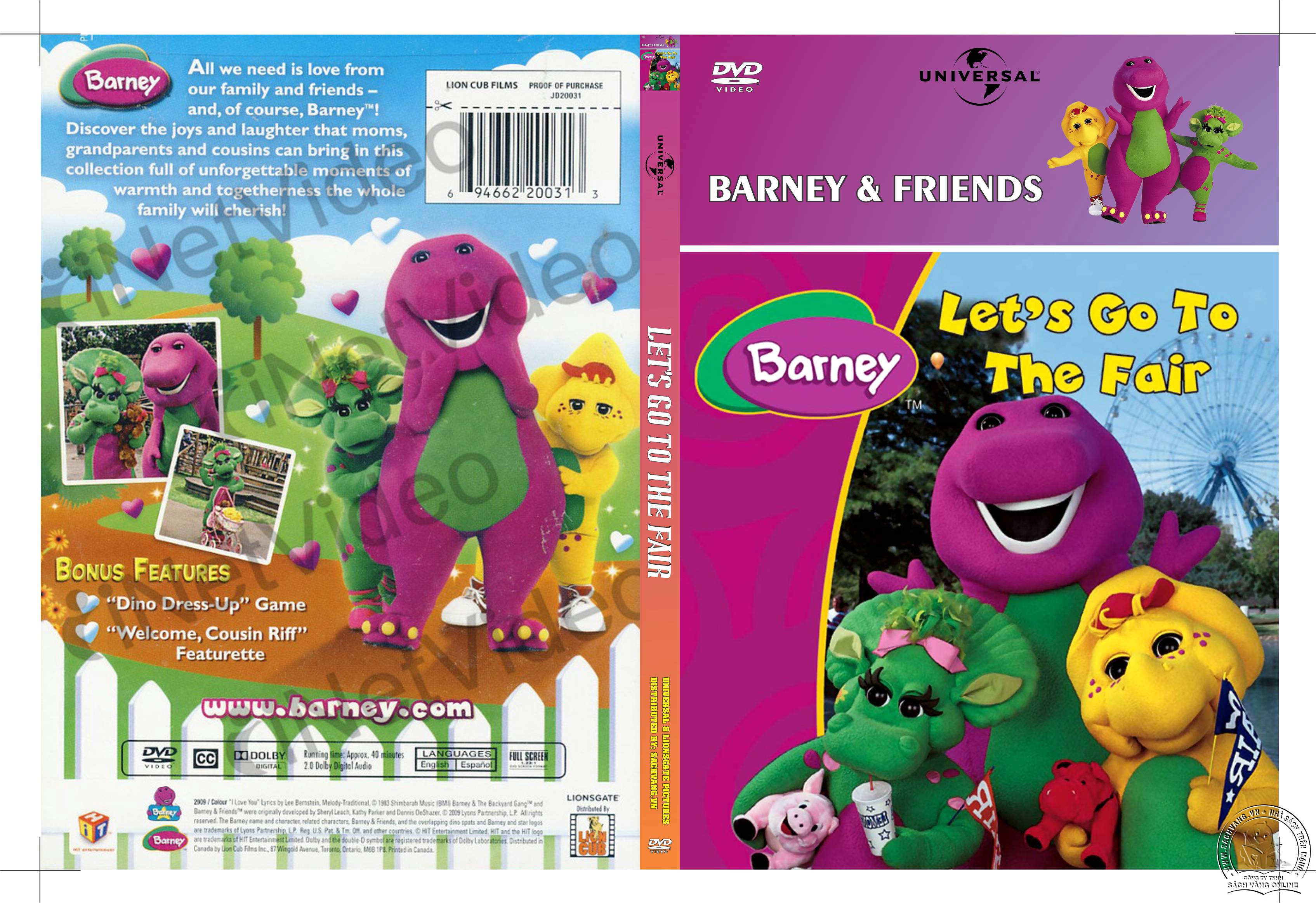 04-Barney Lets Go To The Fair - cover