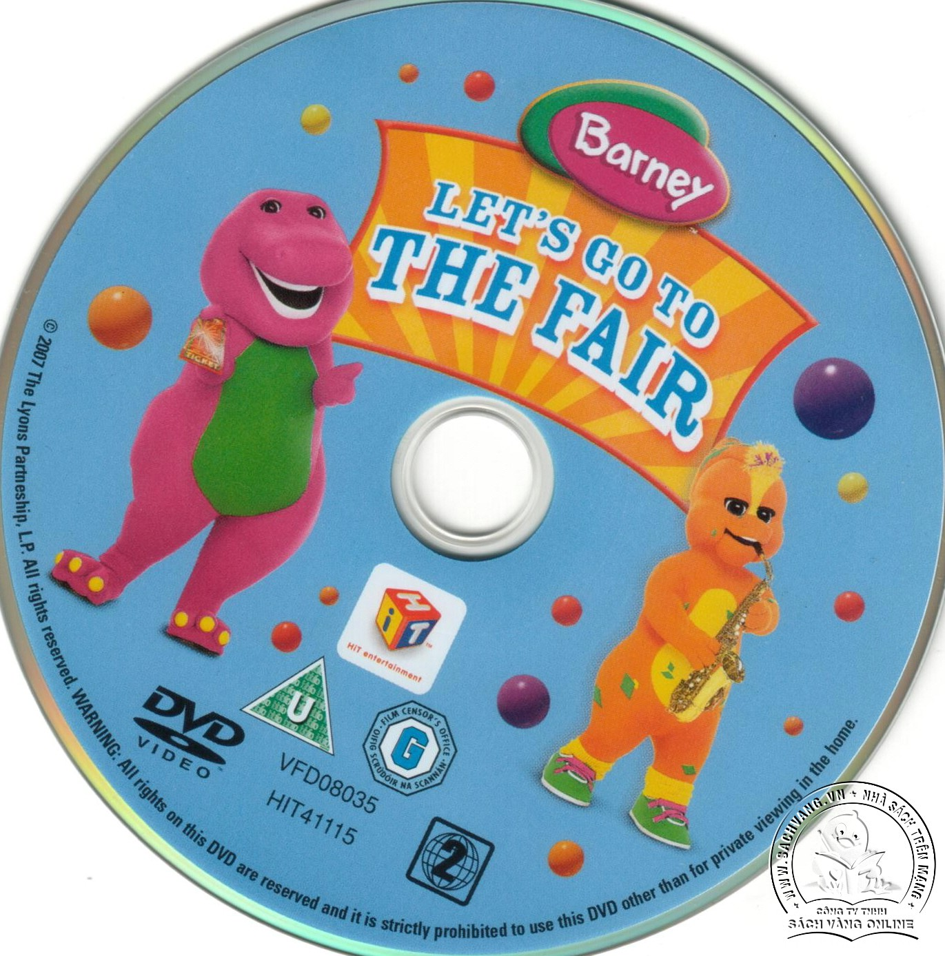 04-Barney Lets Go To The Fair - lebel