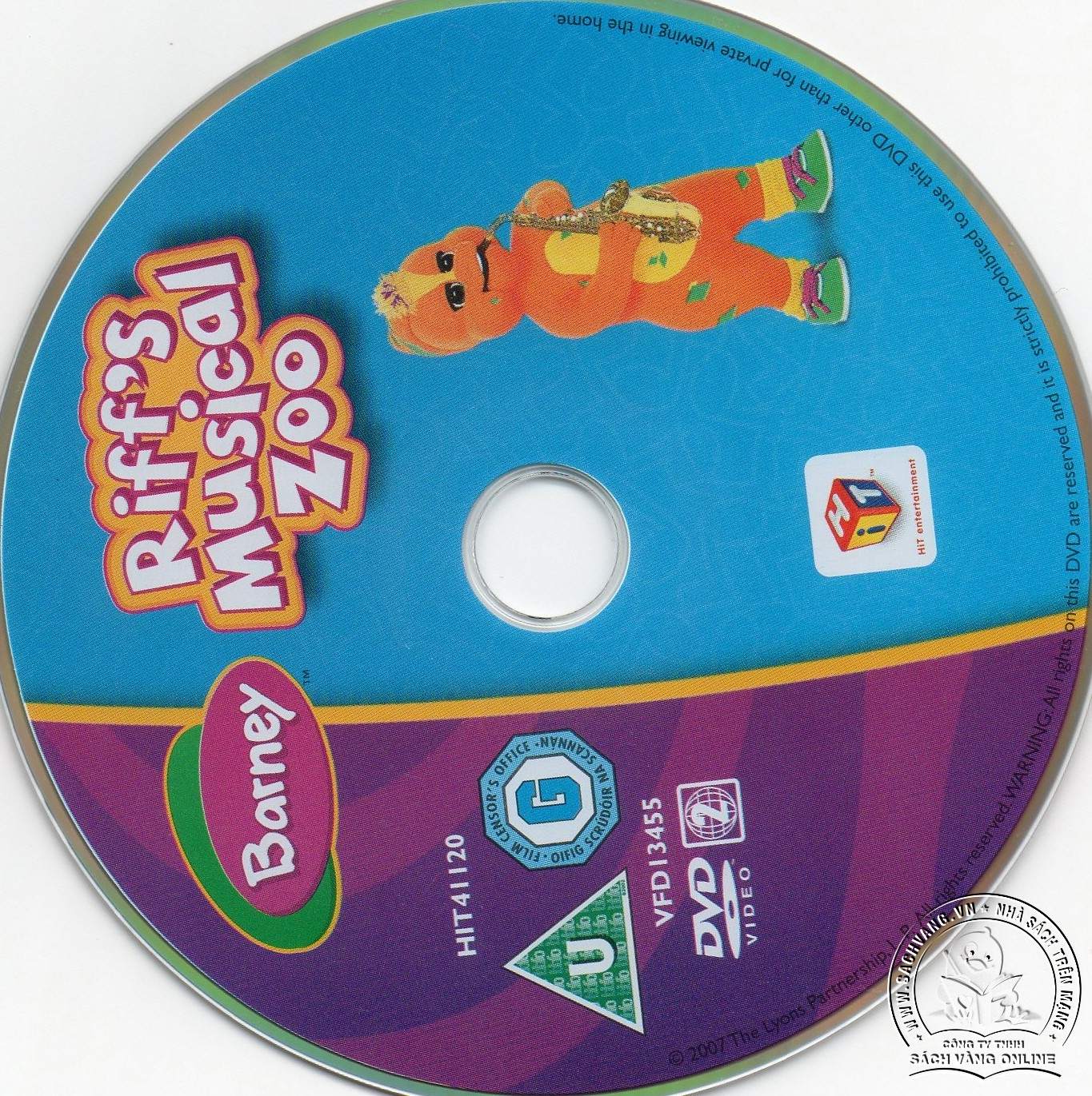05-Barney Riffs Musical Zoo - lebel