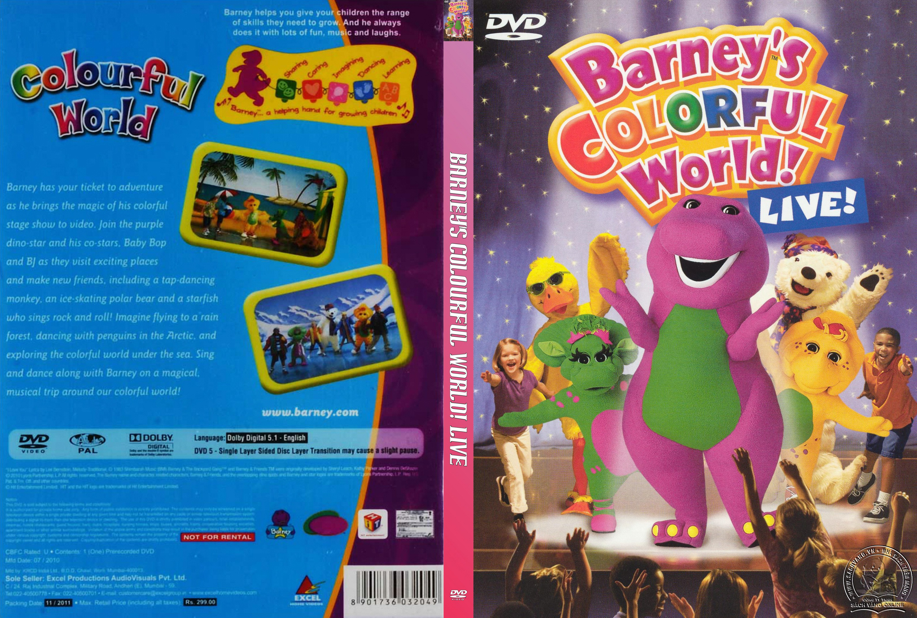 06- Barney Colourful World - cover