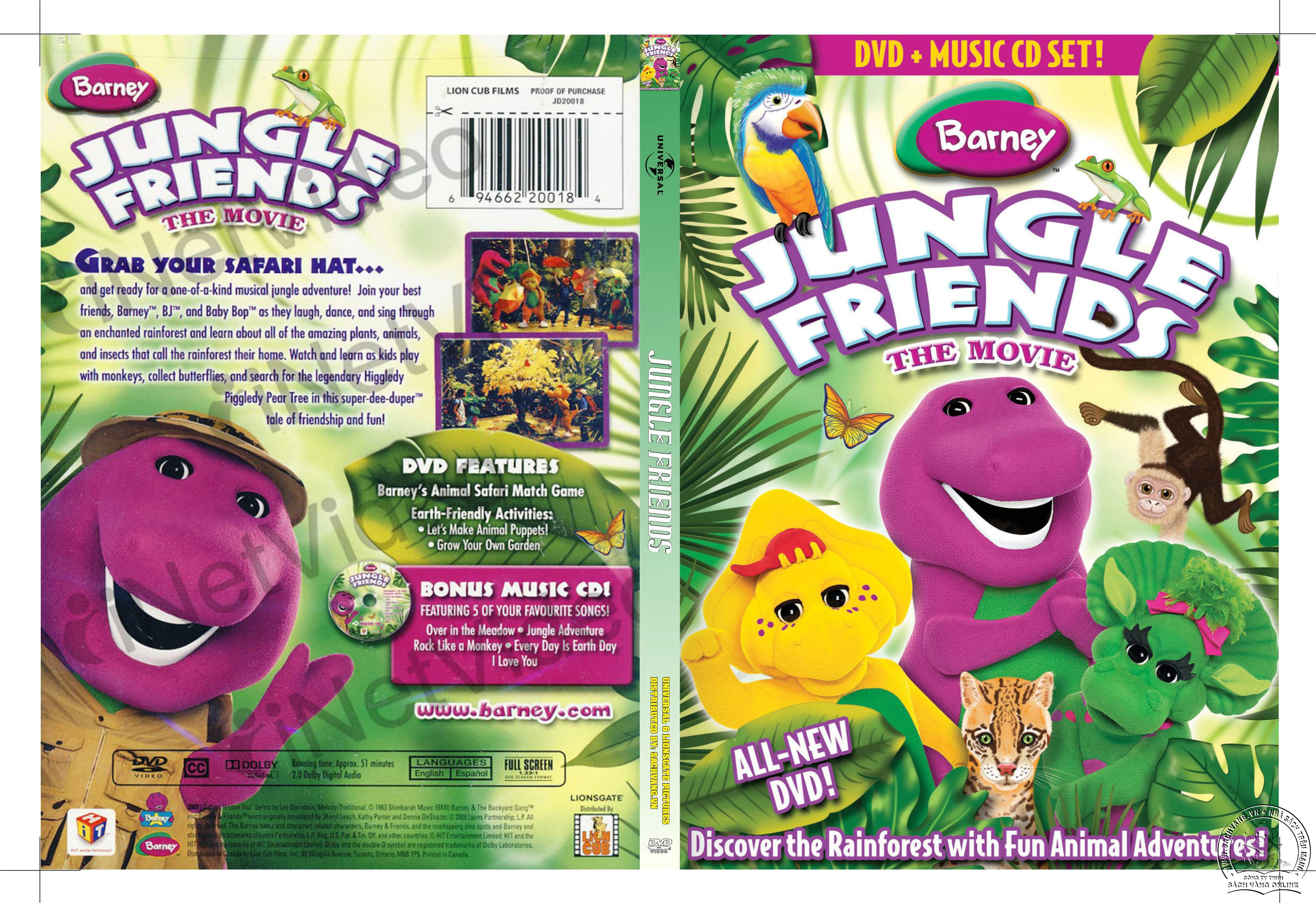 08-Barney Jungle Friends - cover