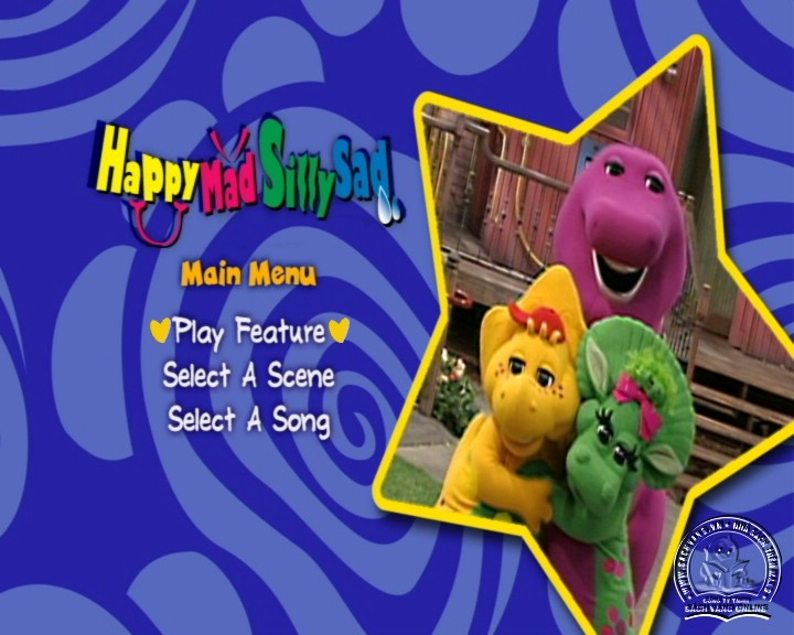 The Best of Barney and Friends - DVD Khủng Long Tím Hay Nhất - Menu DVD 03