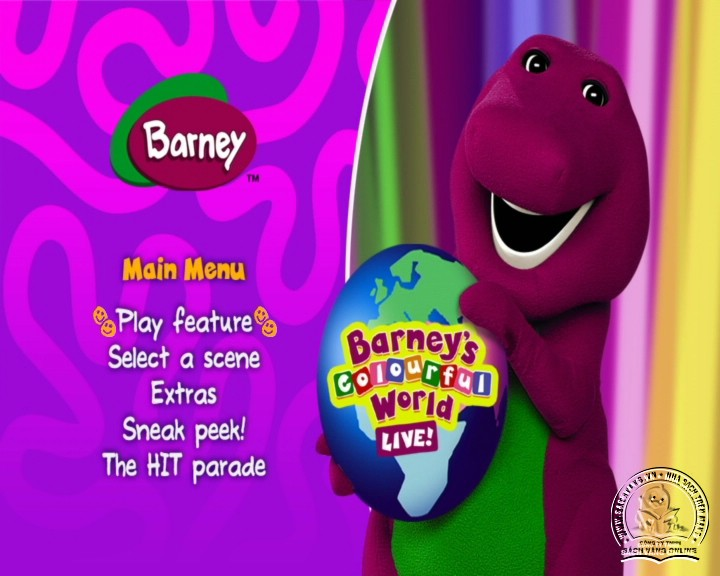 The Best of Barney and Friends - DVD Khủng Long Tím Hay Nhất - Menu DVD 06