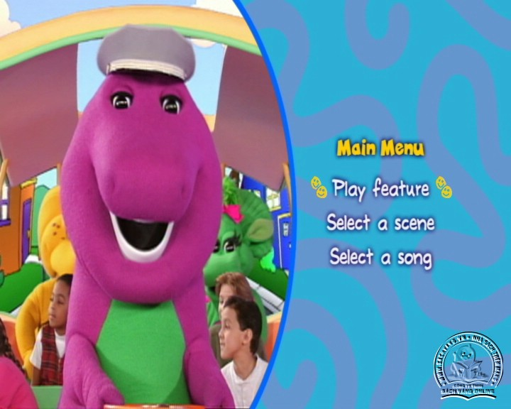 The Best of Barney and Friends - DVD Khủng Long Tím Hay Nhất - Menu DVD 07