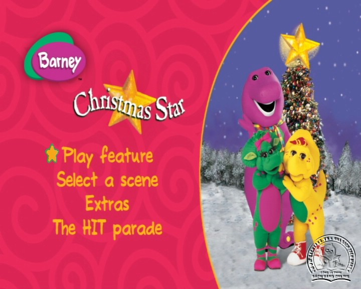 The Best of Barney and Friends - DVD Khủng Long Tím Hay Nhất - Menu DVD 10