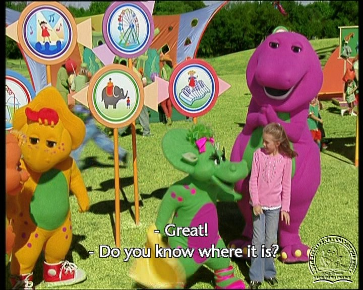 The Best of Barney and Friends - DVD Khủng Long Tím Hay Nhất - Pic 08