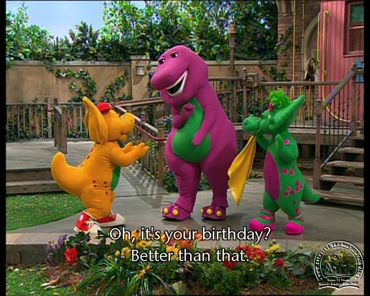 The Best of Barney and Friends - DVD Khủng Long Tím Hay Nhất - Pic 09