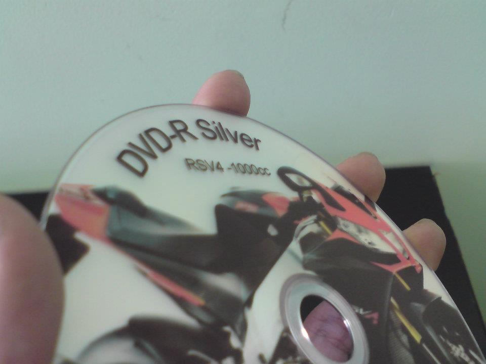 DVD-R iNTACT Silver demo 3