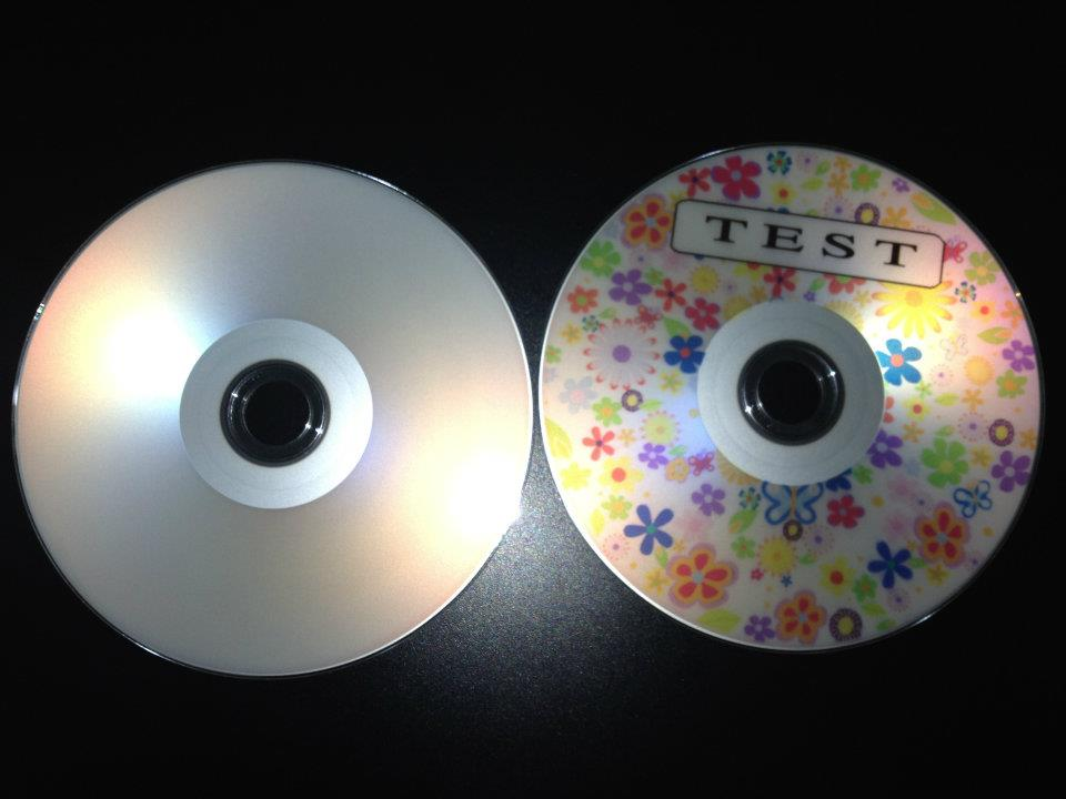 DVD-R iNTACT Silver demo 5