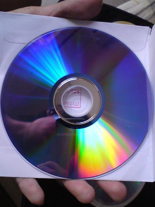 DVD-R iNTACT Silver mặt ghi đĩa