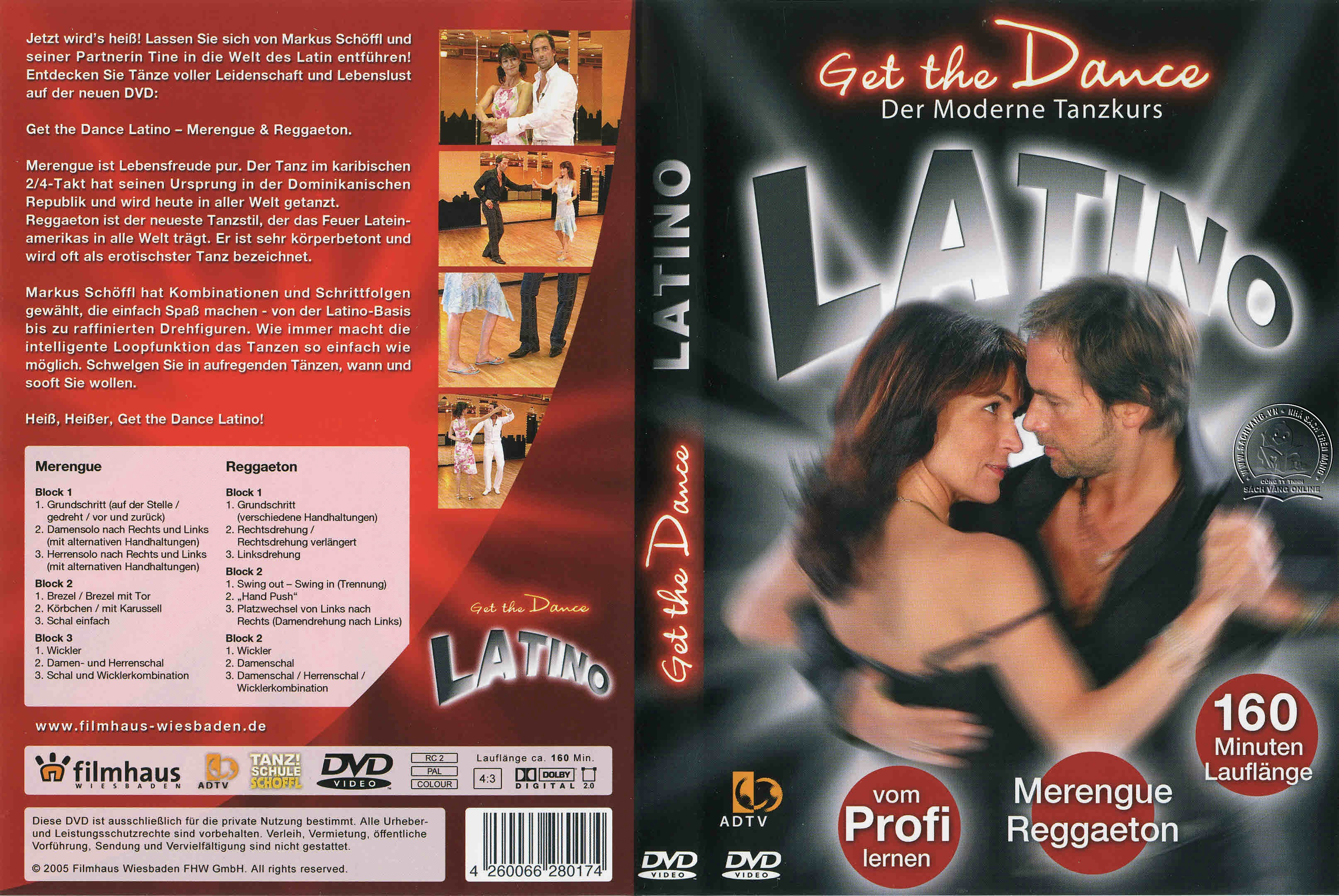 Get The Dance - Latino cover