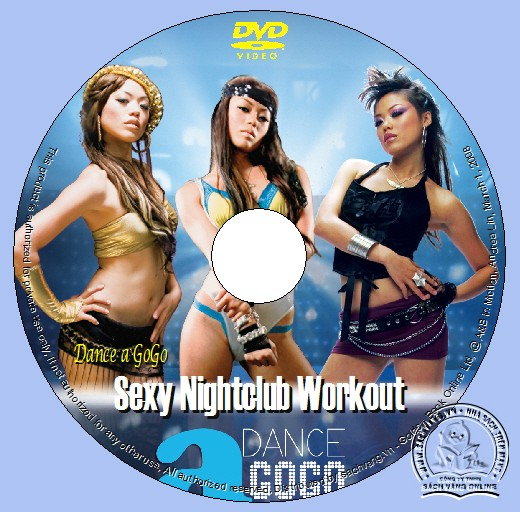 Dance a GoGo - Sexy Nightclub Workout dvd lebel