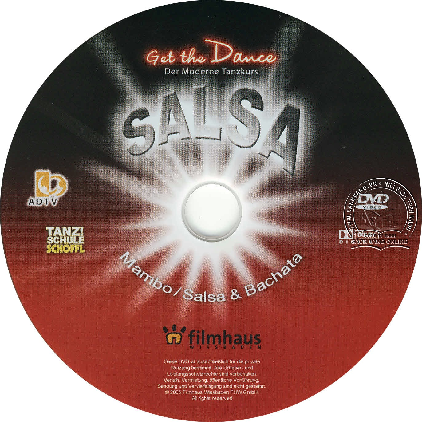 Get The Dance - Salsa - Mambo - Bachata lebel