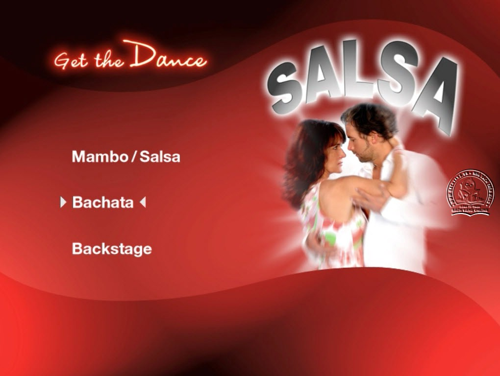 Get The Dance - Salsa - Mambo - Bachata menu
