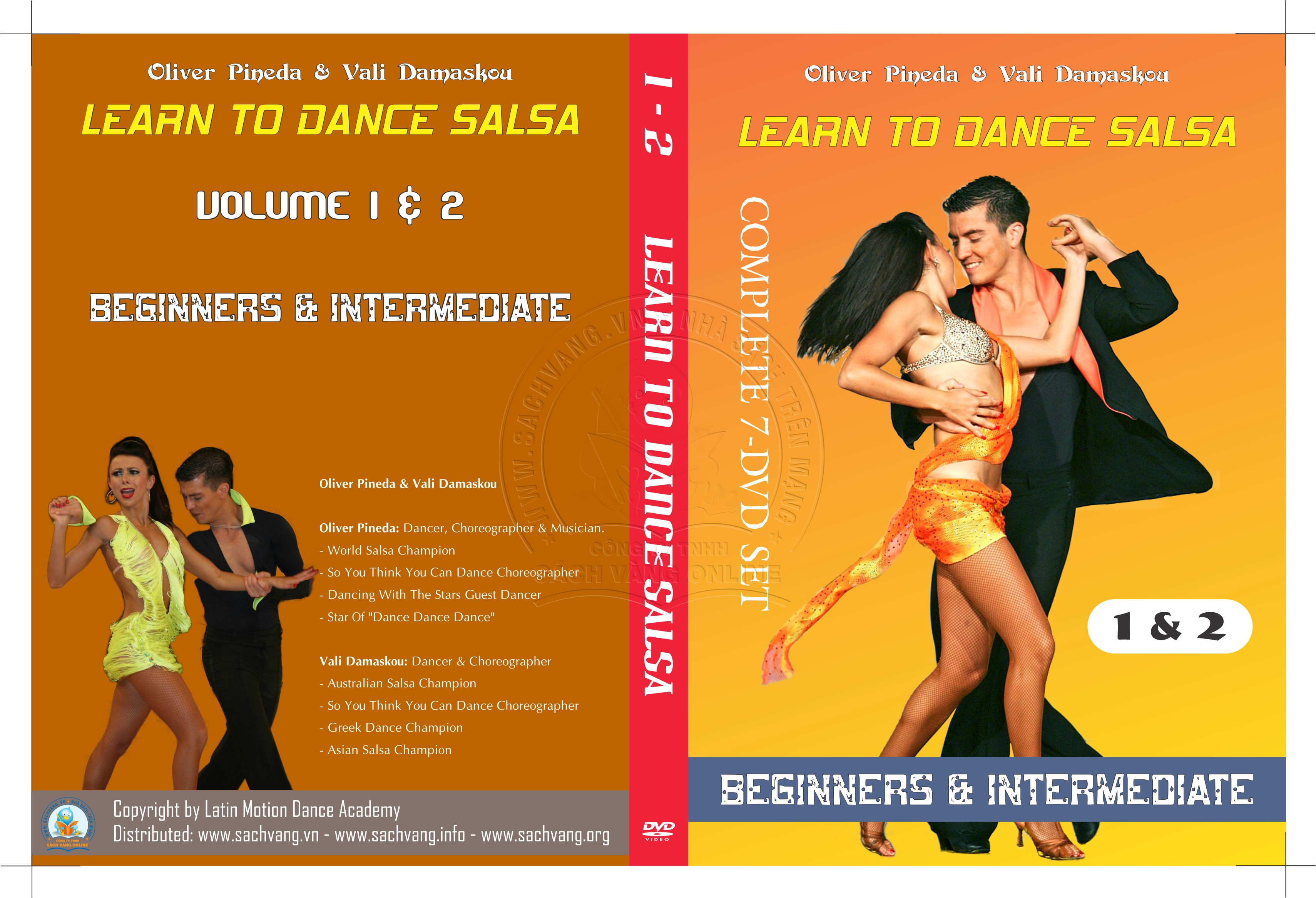 Learn To Dance Salsa with Oliver Pineda & Vali Damaskou 1