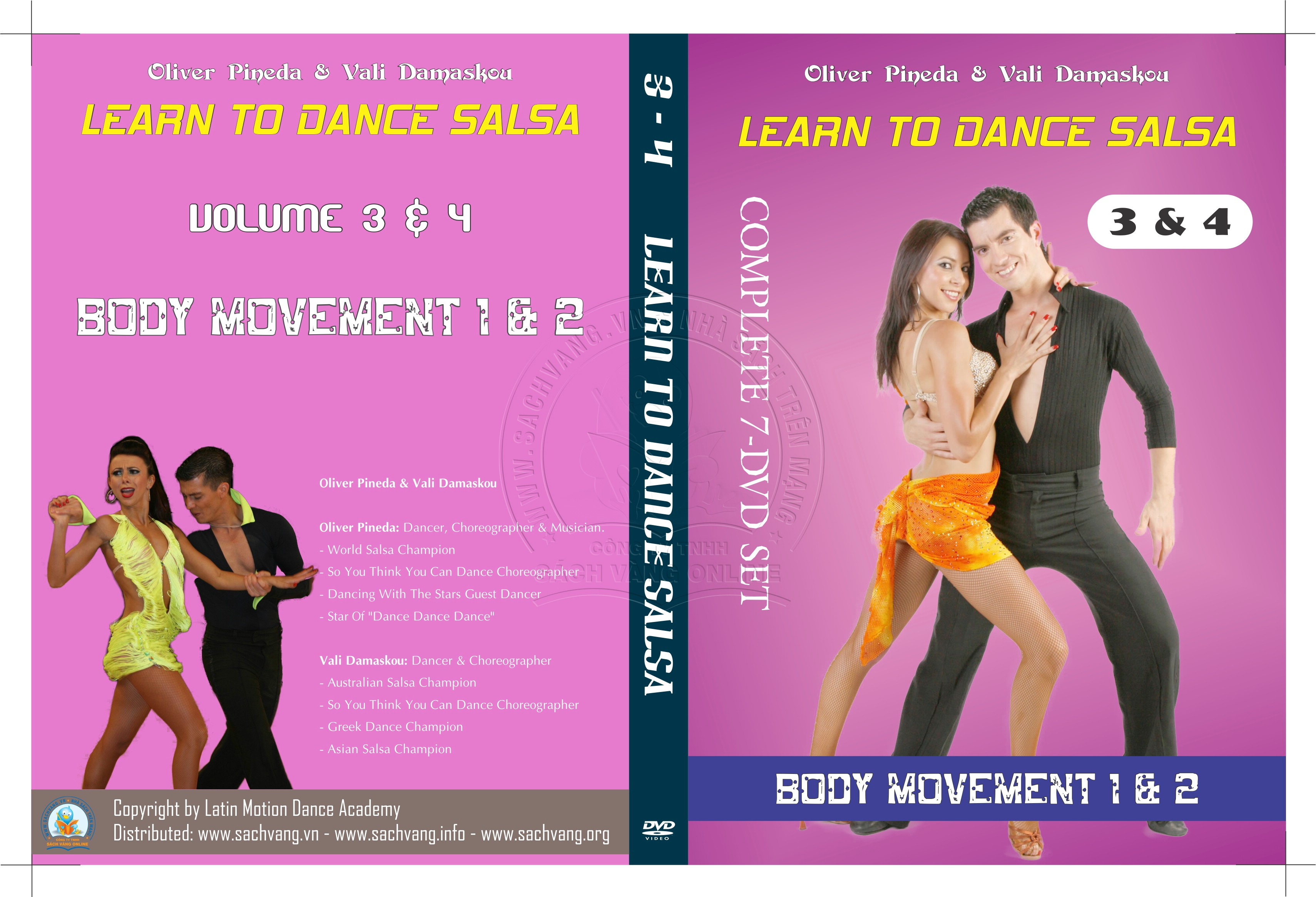 Learn To Dance Salsa with Oliver Pineda & Vali Damaskou 2