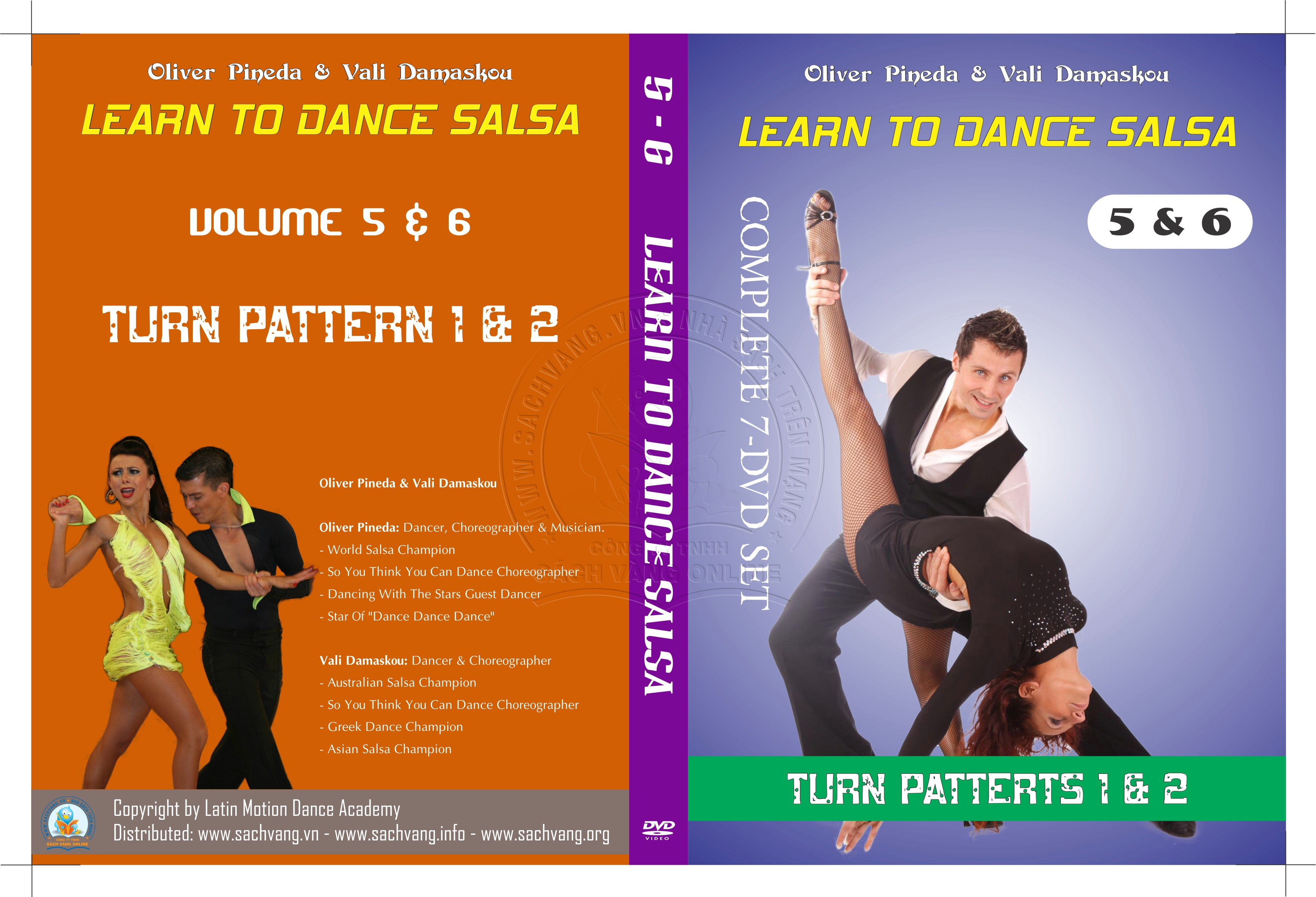 Learn To Dance Salsa with Oliver Pineda & Vali Damaskou 3