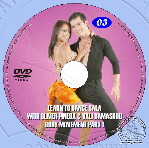 Learn To Dance Salsa with Oliver Pineda & Vali Damaskou lebel 03