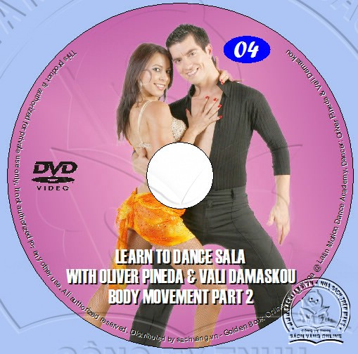 Learn To Dance Salsa with Oliver Pineda & Vali Damaskou lebel 04