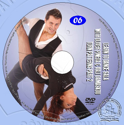 Learn To Dance Salsa with Oliver Pineda & Vali Damaskou lebel 06