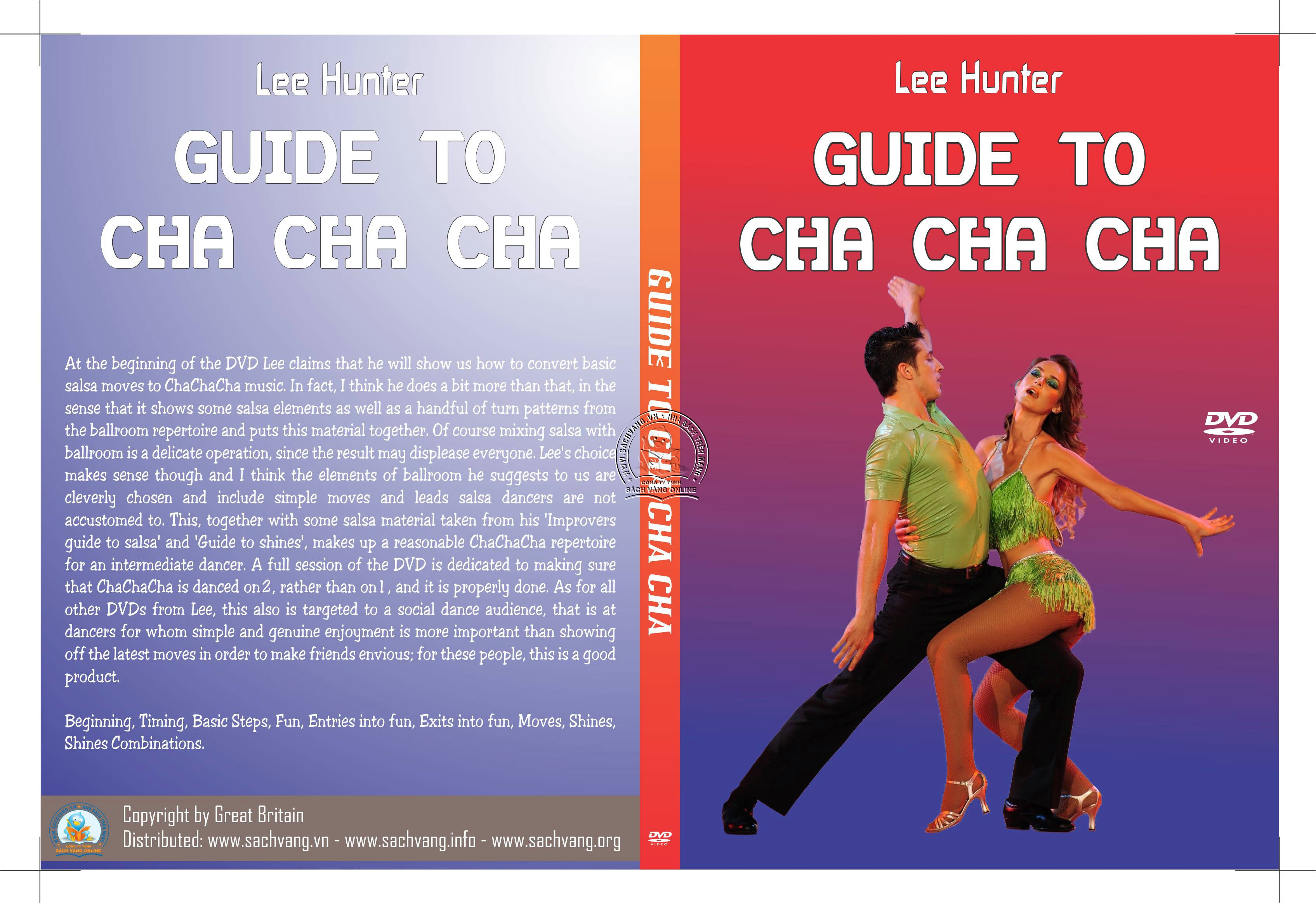 Lee Hunter's Guide To Cha Cha Cha cover