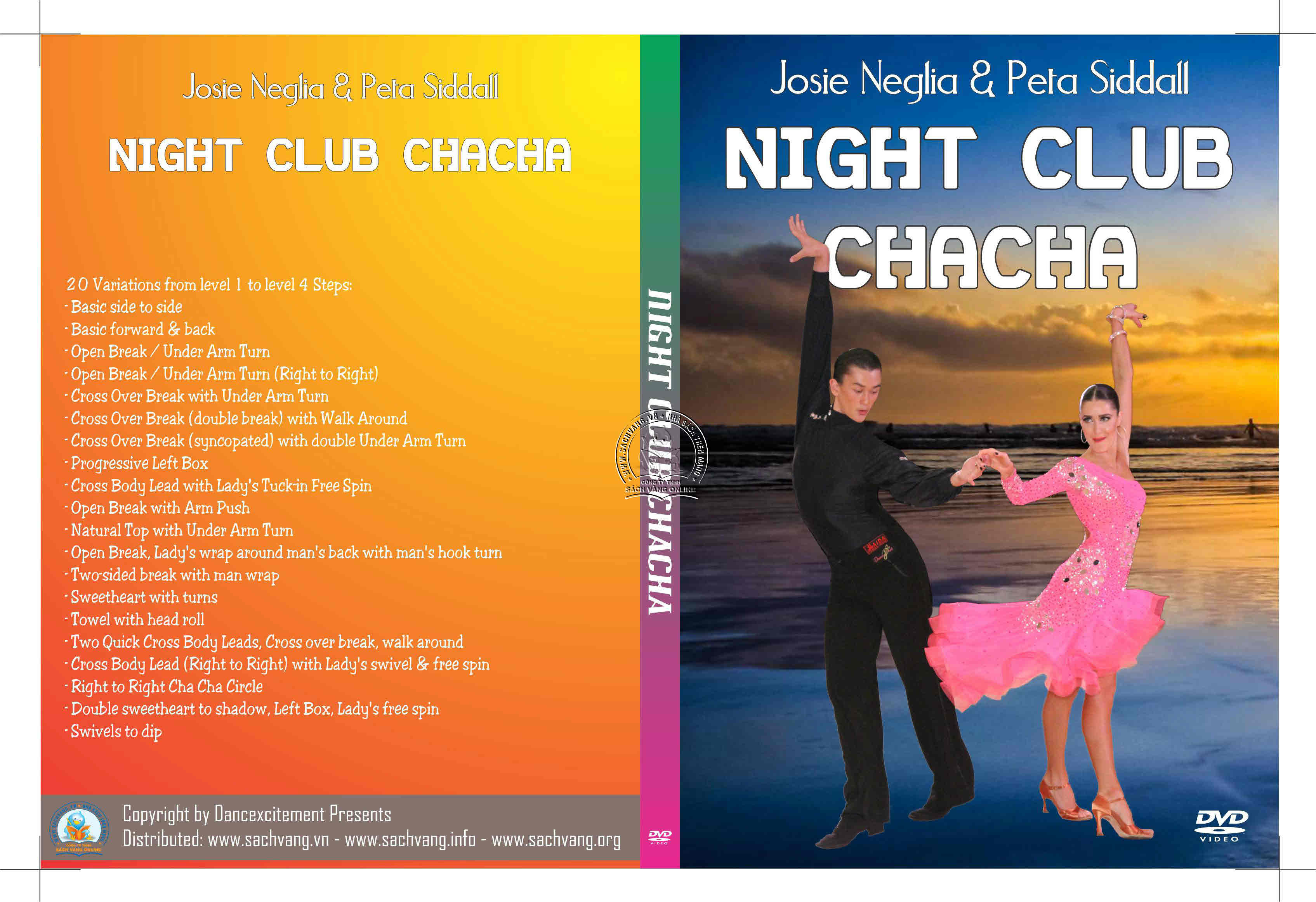 Night Club ChaCha With Josie Neglia and Peta Siddall cover