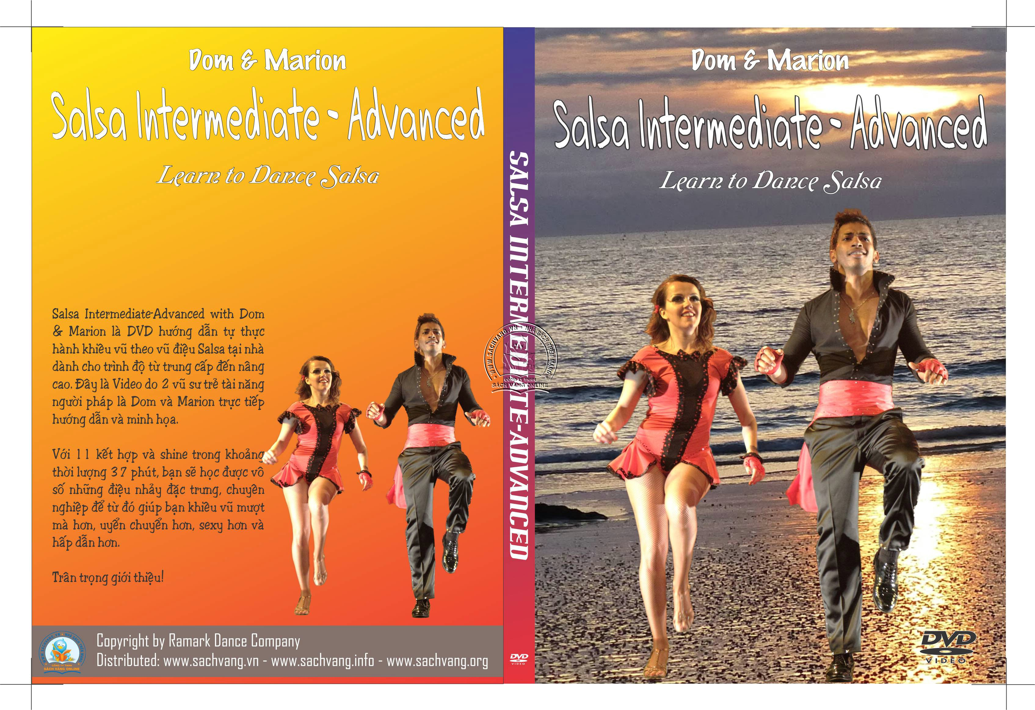 Salsa Intermediate-Advanced with Dom and Marion cover