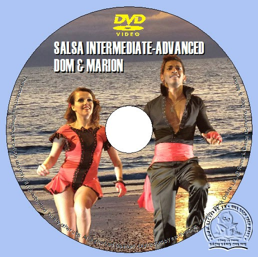 Salsa Intermediate-Advanced with Dom and Marion lebel