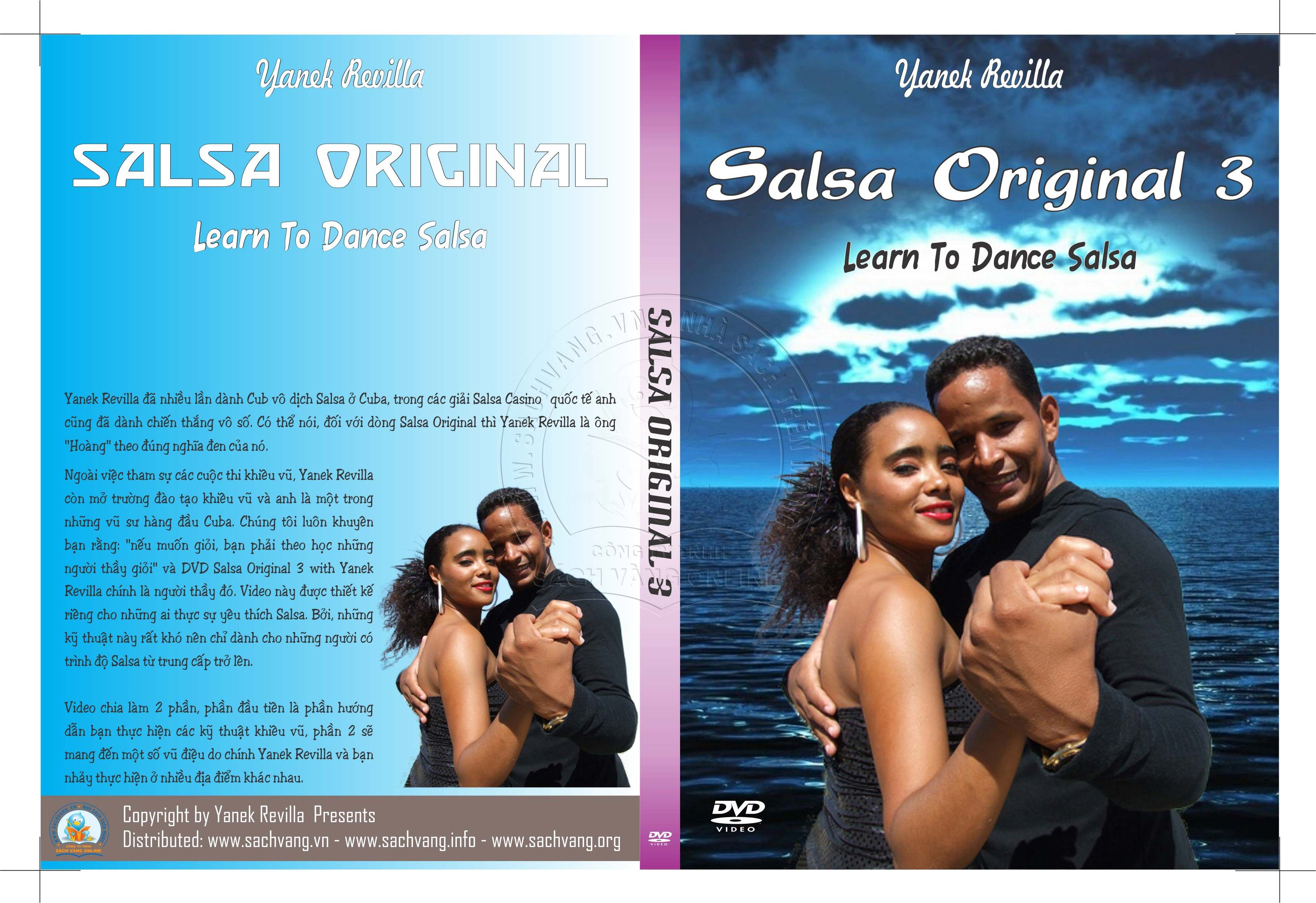 Salsa Original 3 with Yanek Revilla cover