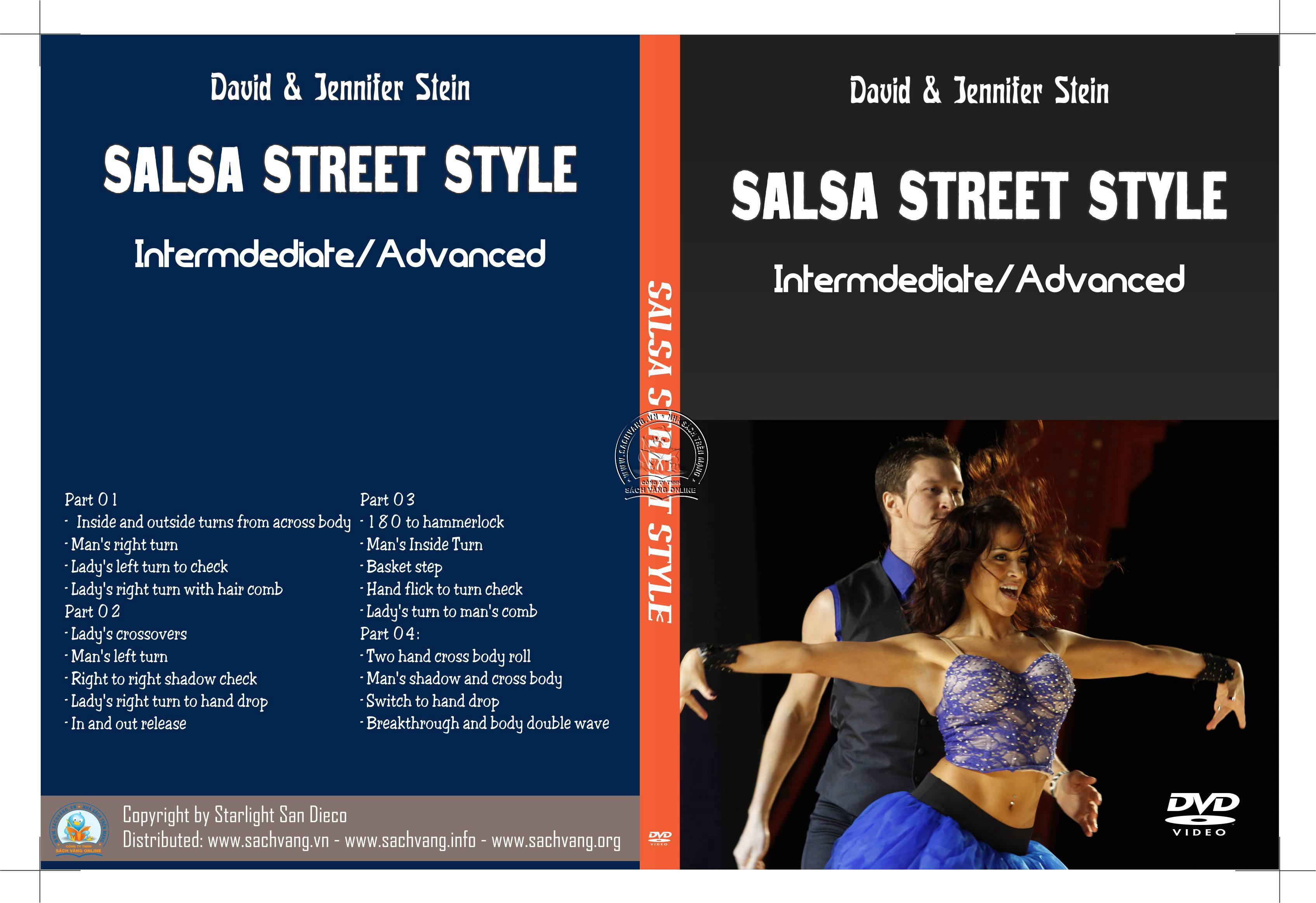 Salsa Street Style With David and Jennifer Stein cover