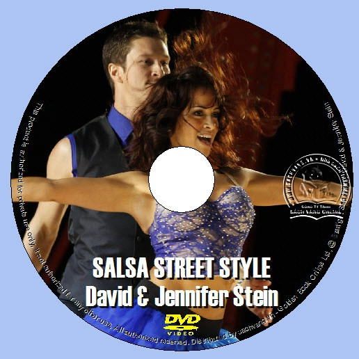 Salsa Street Style With David and Jennifer Stein lebel