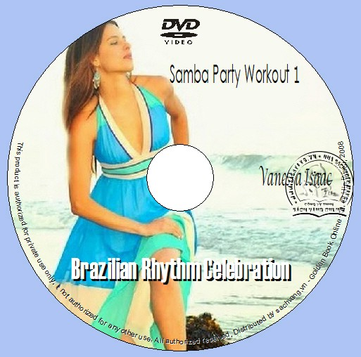Samba Party Workout 1 - Brazilian Rhythm Celebration dvd lebel