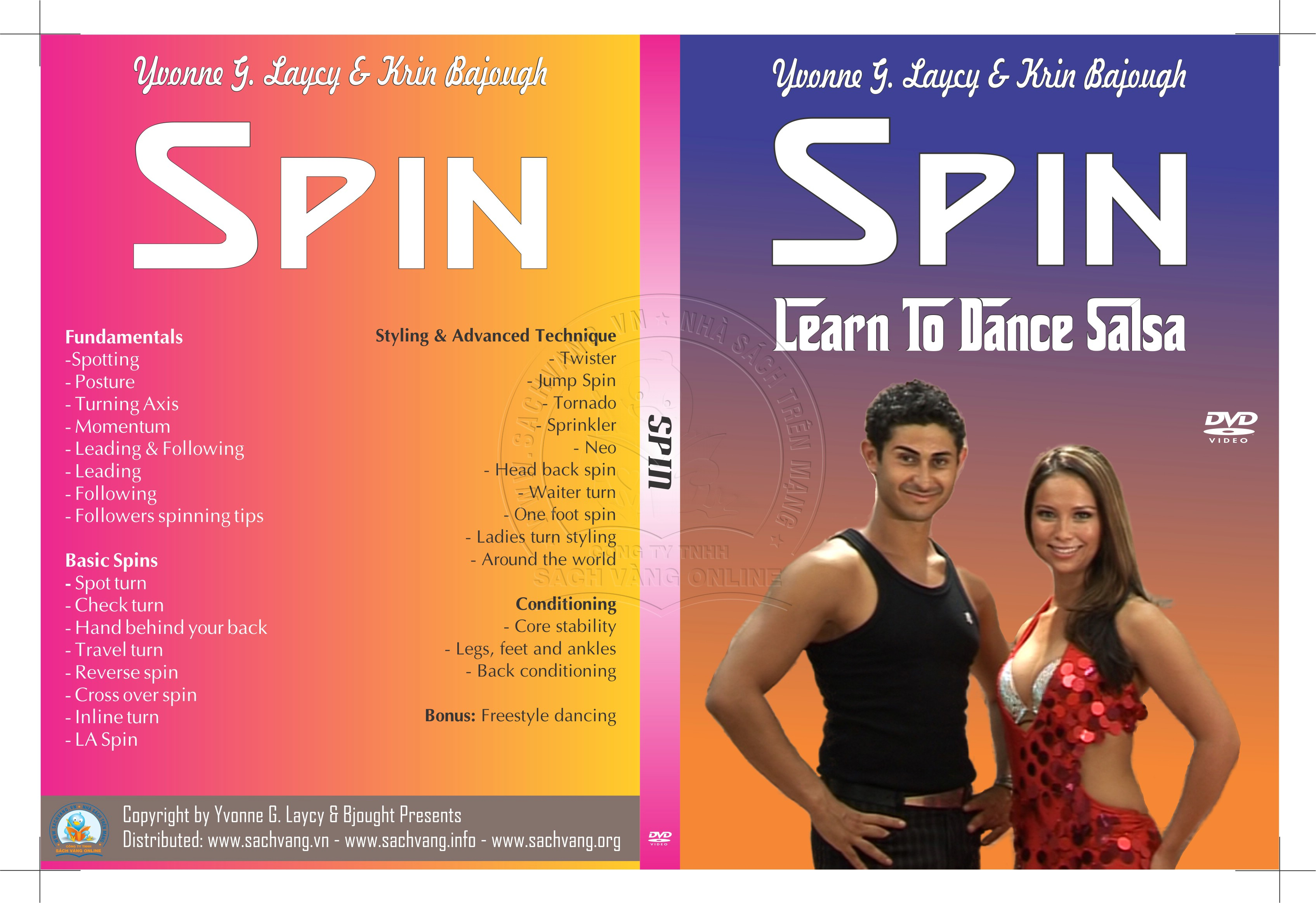 Spin with Yvonne Laycy & Krin Bajough cover