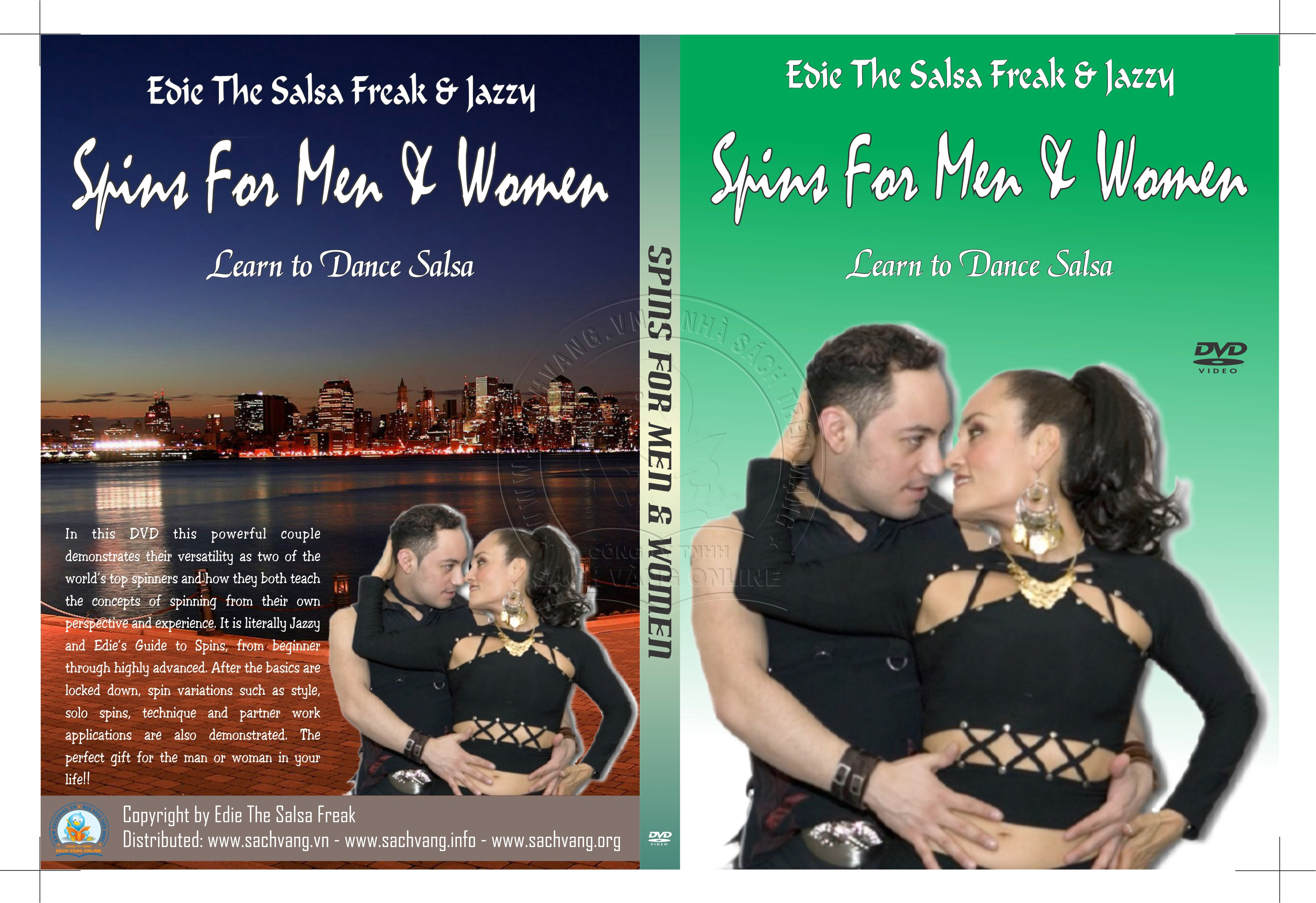 Spins For Men & Women with Edie and Jazzy cover