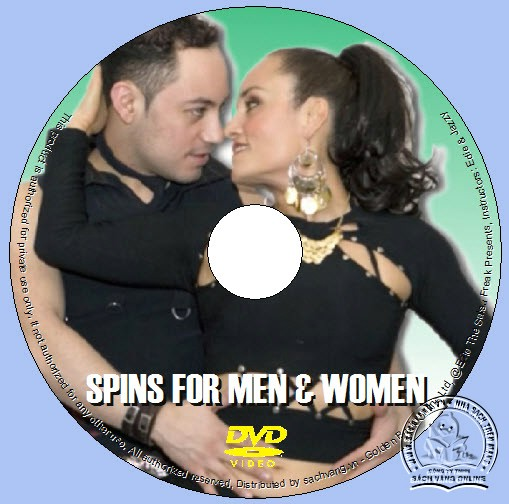 Spins For Men & Women with Edie and Jazzy lebel