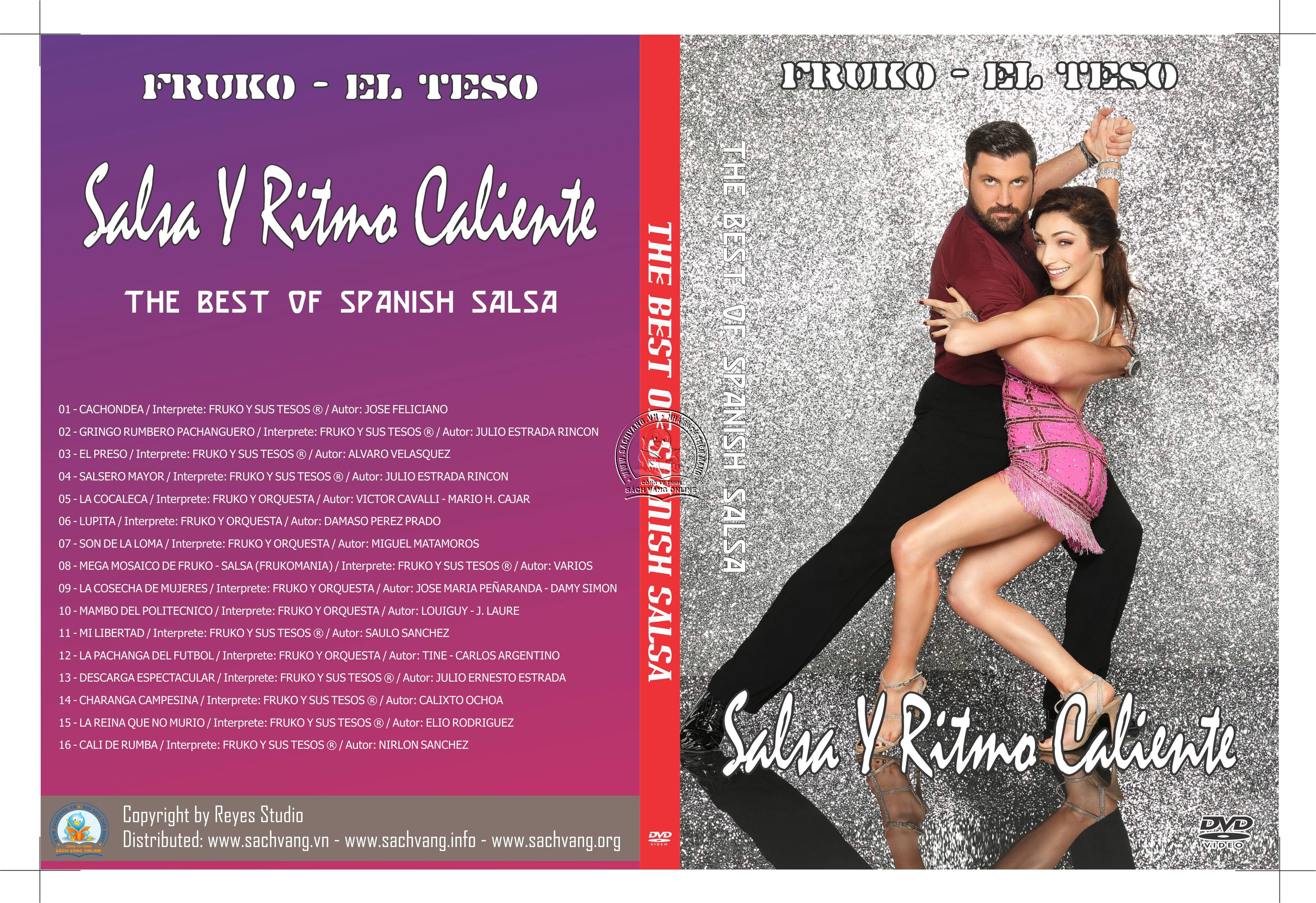 The Best Of Spanish Salsa - Fruko - El Teso! - Salsa Y Ritmo Caliente cover