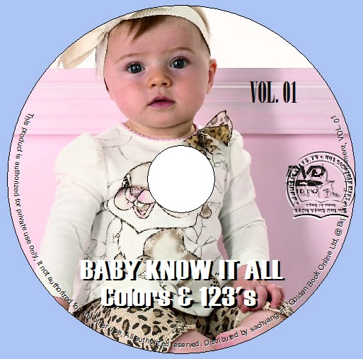 Baby Know It All - Colors And 123's - Animals And ABC's lebel 01